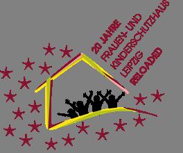 Logo 20 Jahre Frauen und Kinderschutzhaus Leipzig